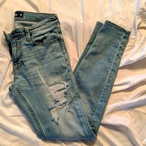 HOLLISTER men's jeans super skinny